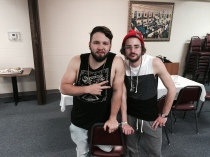Dinner with Andy Mineo