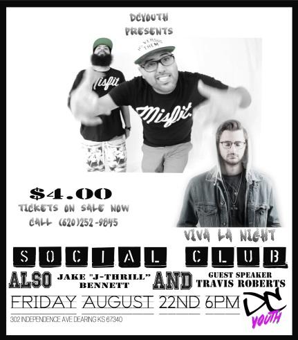 Social Club flyer